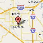 Google Maps: Tracy Location